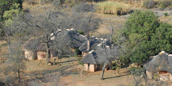 Lodges from above